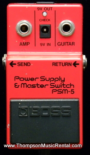 Boss PSM-5 Power supply and switch